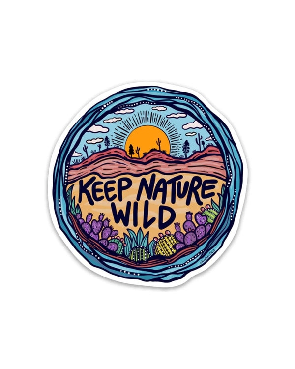 Wild Earth Day 2019 | Sticker - Keep Nature Wild