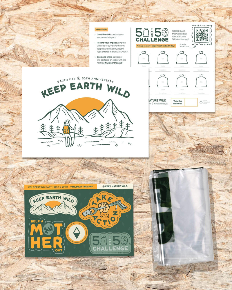 Keep Nature Wild Reusables Wild Earth Day| DIY Cleanup Kit