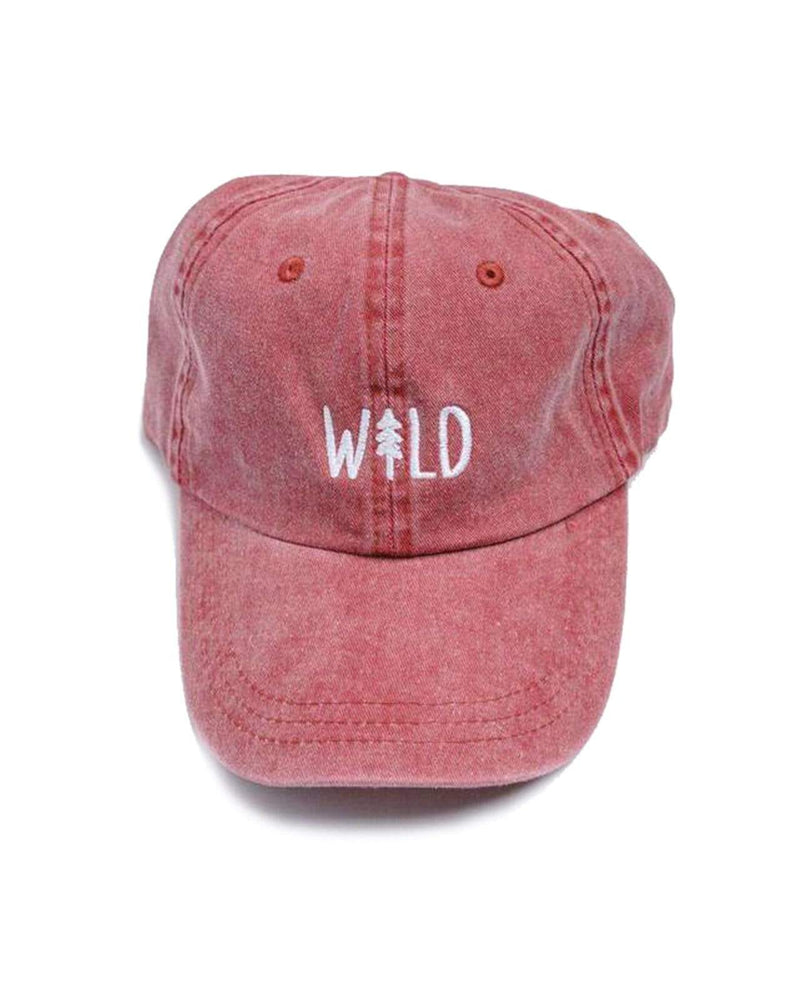 Wild Pine Dad Hat | Berry - Keep Nature Wild