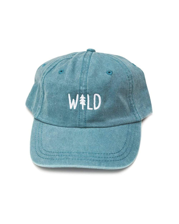Wild Pine Dad Hat | Coastal Blue - Keep Nature Wild