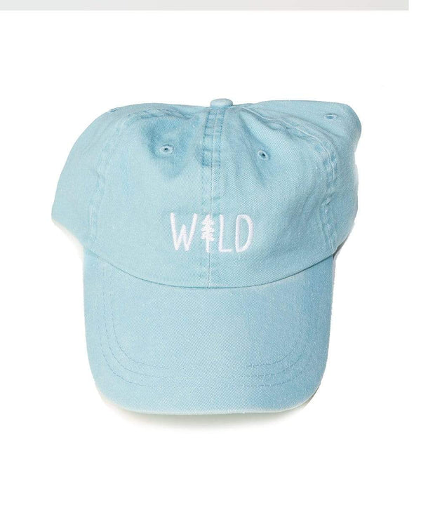 Keep Nature Wild Hat Wild Pine Dad Hat | Sky Blue
