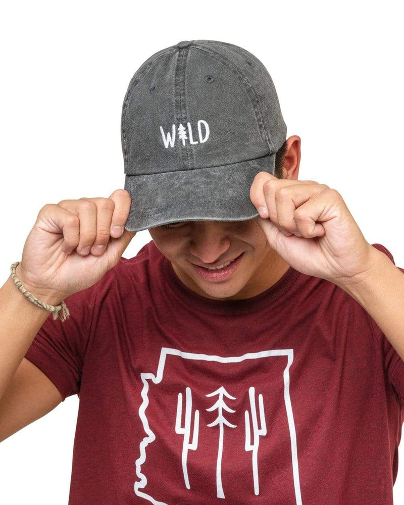 Keep Nature Wild Hat Wild Pine Dad Hat | Smoke