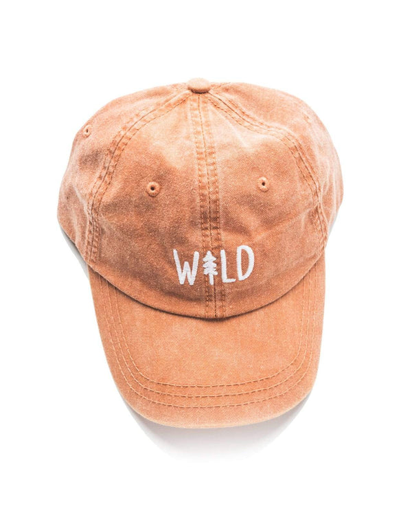 Wild Pine Dad Hat | Sunset Orange - Keep Nature Wild