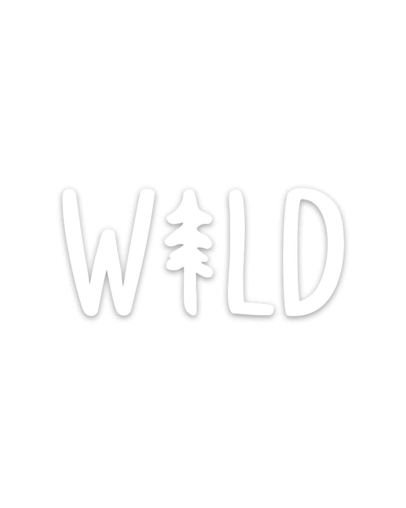 Wild Pine | Decal - Keep Nature Wild