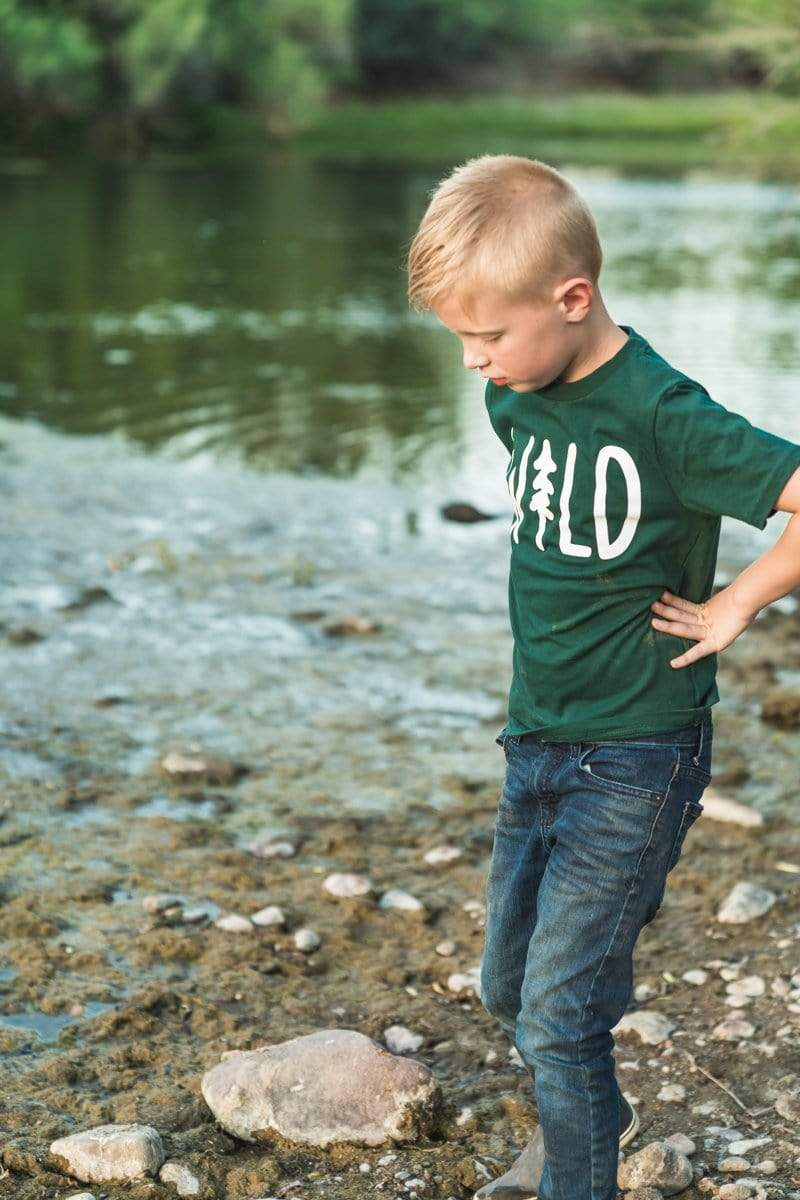 Wild Pine Forest | Youth Tee - Keep Nature Wild