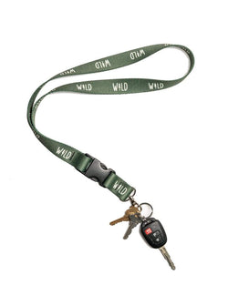 Wild Pine Lanyard | Forest - Keep Nature Wild