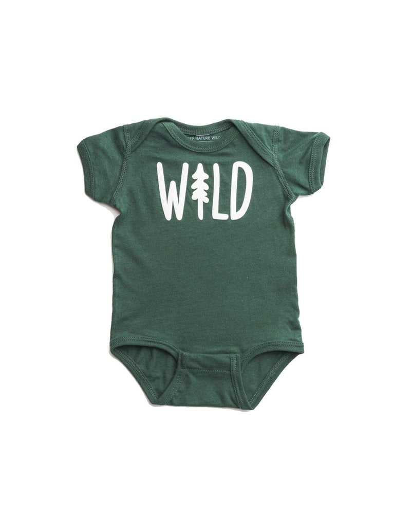 Wild Pine Onesie | Forest - Keep Nature Wild