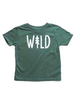 Wild Pine Toddler Tee | Forest - Keep Nature Wild