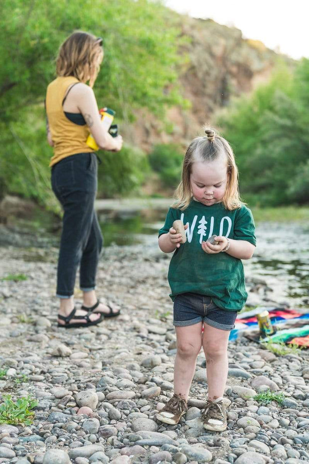 Wild Pine Toddler Tee | Forest 1