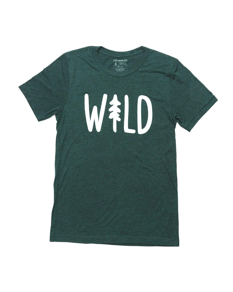 Wild Pine Unisex Tee | Forest - Keep Nature Wild