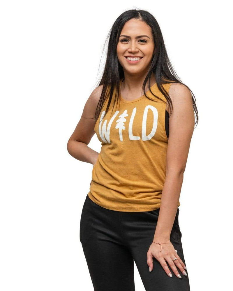 Keep Nature Wild Tank Wild Pine Women's Muscle Tank | Pollen