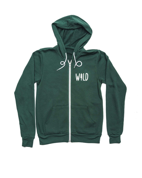 Keep Nature Wild Outerwear Wild Pine Zip Hoodie | Forest
