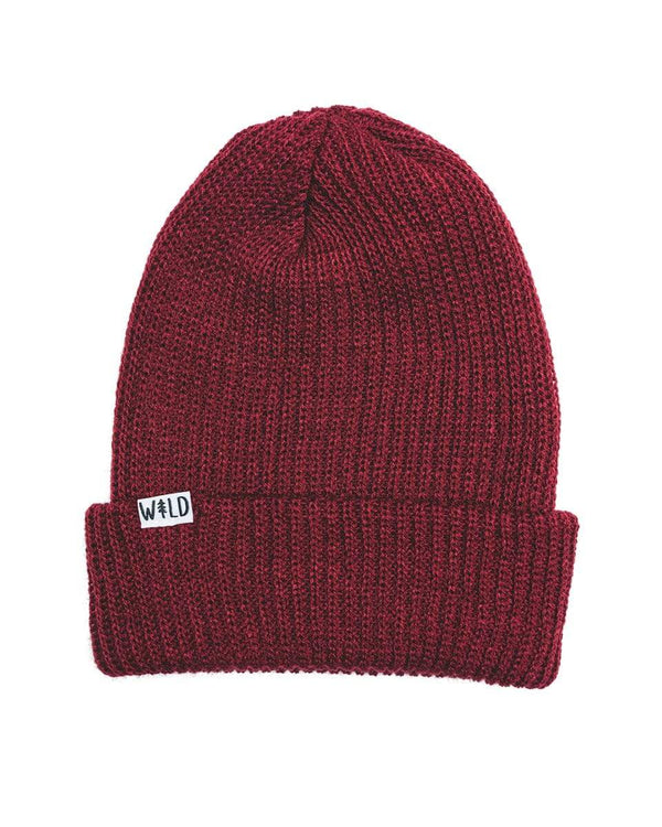 Keep Nature Wild Hat Wild Slouch Beanie | Crimson Red