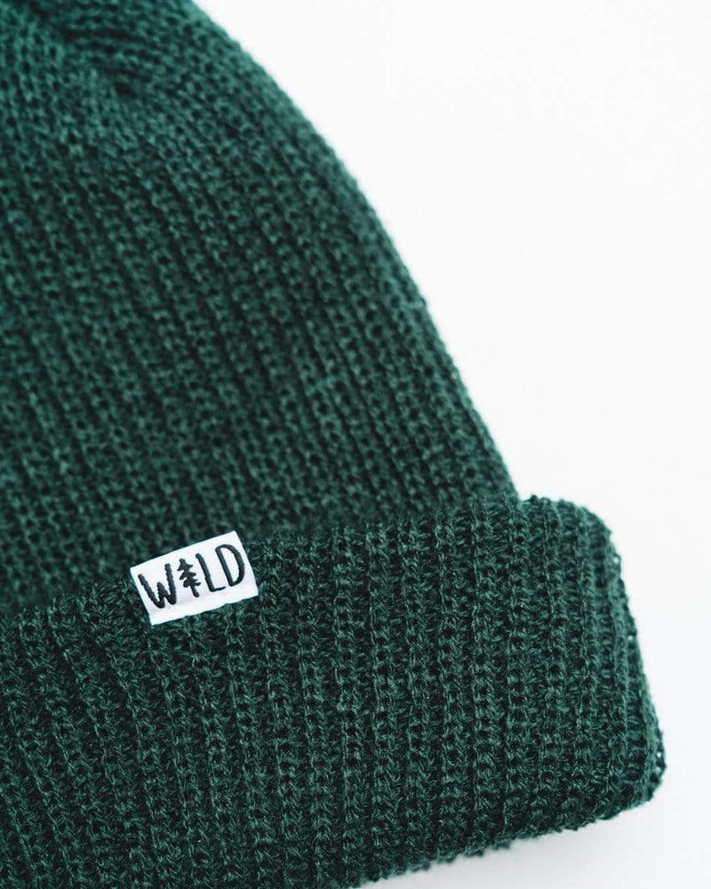 Wild Slouch Beanie | Deep Forest - Keep Nature Wild