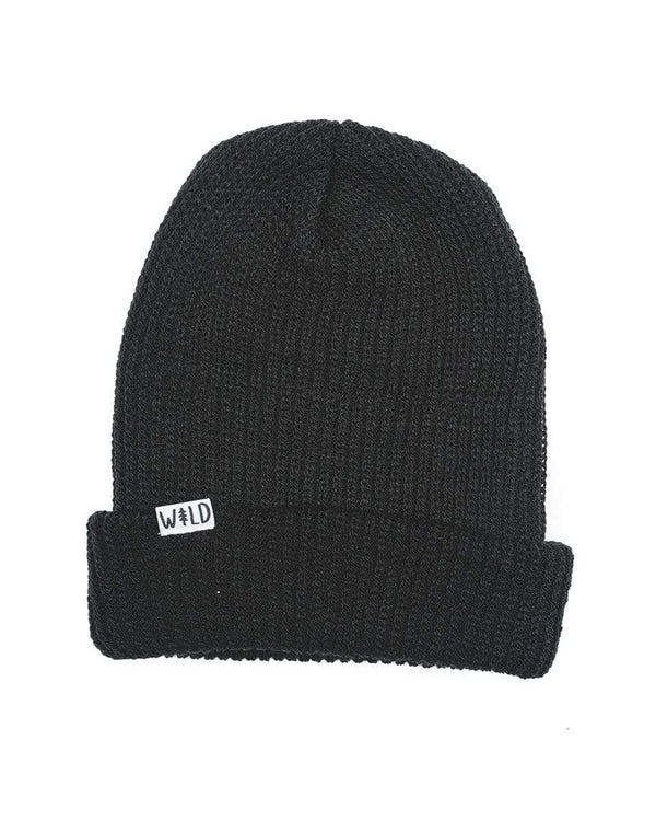 Keep Nature Wild Hat Wild Slouch Beanie | Midnight Black