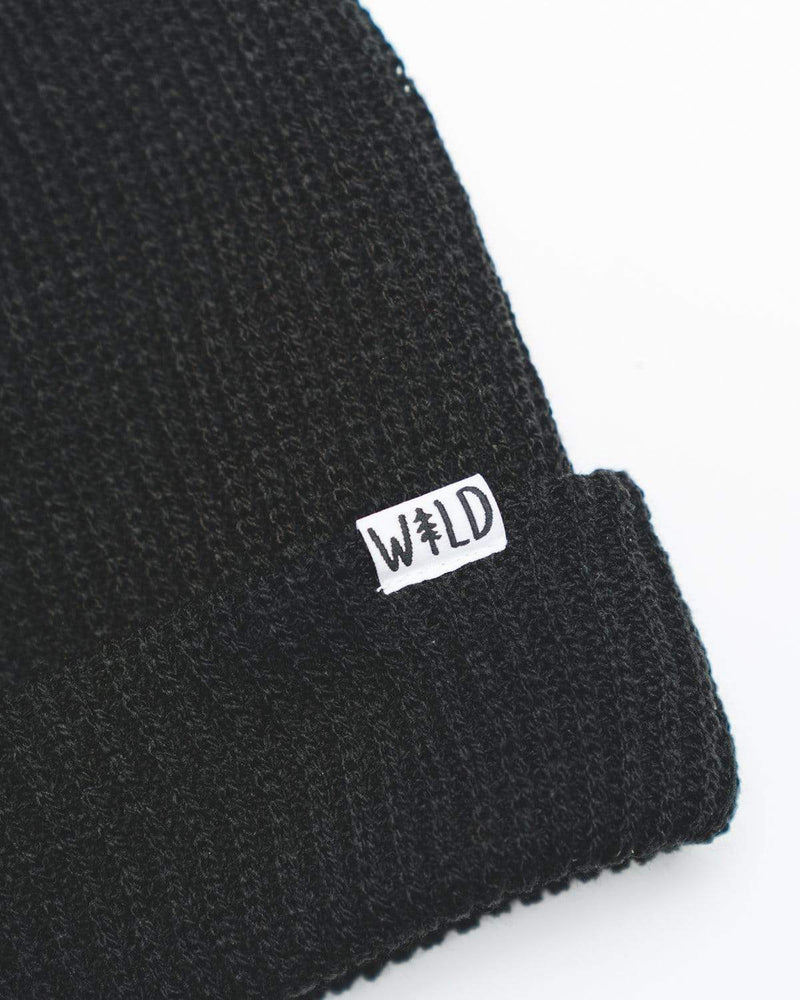 Wild Slouch Beanie | Midnight Black - Keep Nature Wild