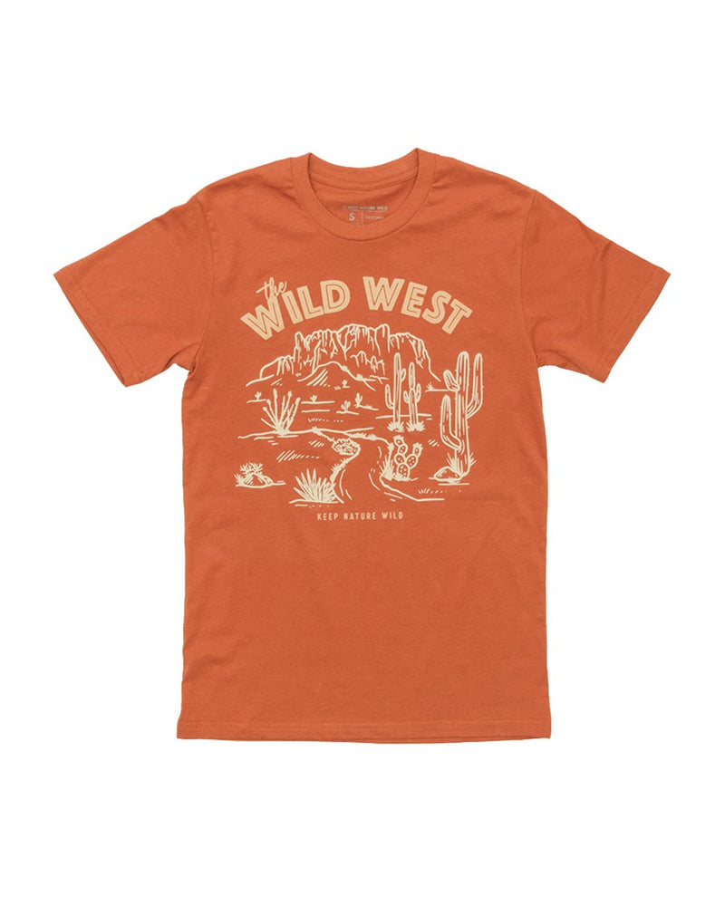 Keep Nature Wild Tee Wild West Unisex Tee | Copper
