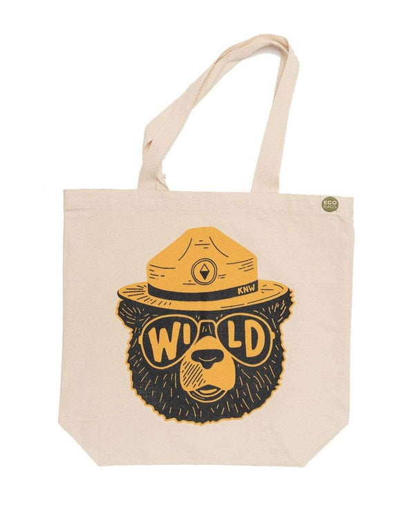 Keep Nature Wild Reusables Wildbear | ECO Tote Bag