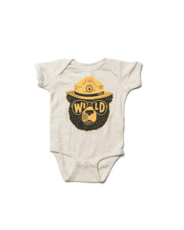 Wildbear Onesie | Natural - Keep Nature Wild