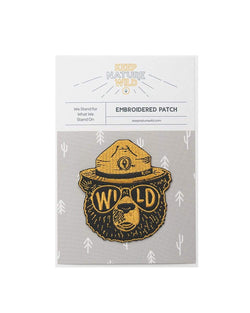 Wildbear | Patch - Keep Nature Wild