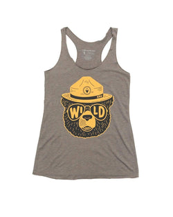 Wildbear Racerback Tank | Olive - Keep Nature Wild