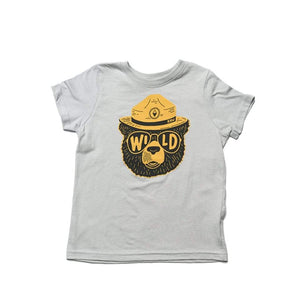 Wildbear Toddler Tee | Heathered Stone