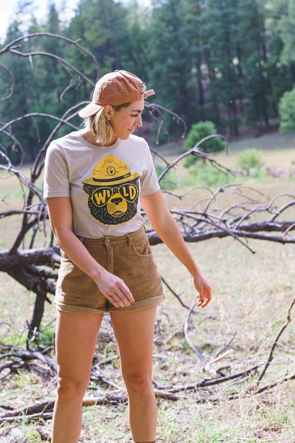 Wildbear Unisex Tee | Heather Tan - Keep Nature Wild