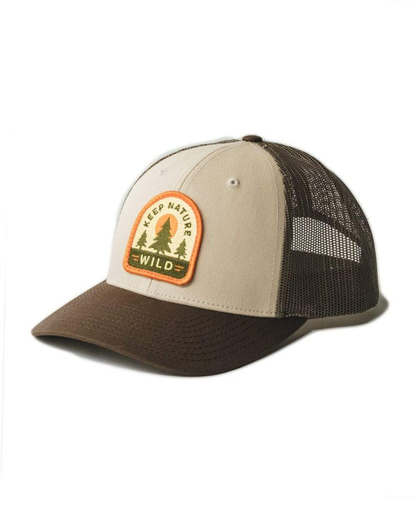 Keep Nature Wild Hat Wilderness Patch Hat | Trio