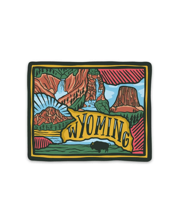 Wyoming Love | Sticker - Keep Nature Wild