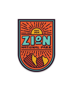Zion National Park | Sticker - Keep Nature Wild