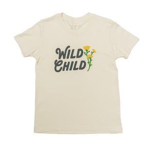 Wild Child Youth Tee | Natural