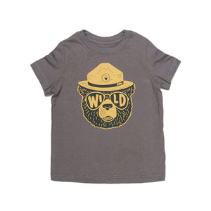 Wildbear Toddler Tee | Coal
