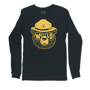 Wildbear Unisex Long Sleeve | Black