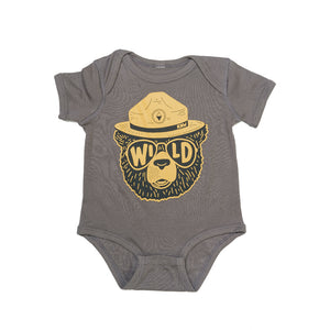 Wildbear Onesie | Coal