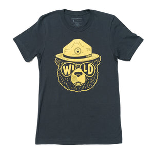 Wildbear Unisex Tee | Coal