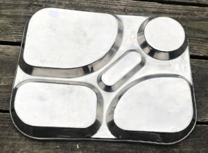 Vintage Reusable Lunch Tray