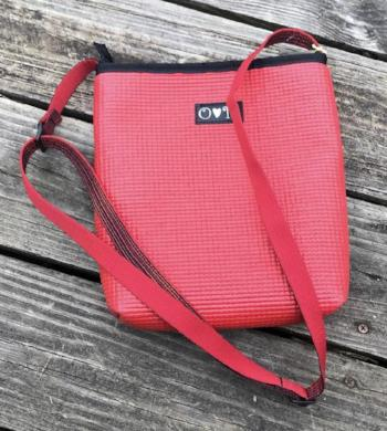 Cross Body Purse, Recycled Yoga Mats