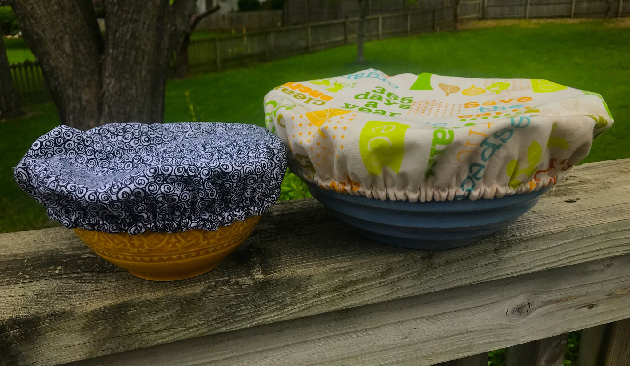 Cover those dishes without plastic!