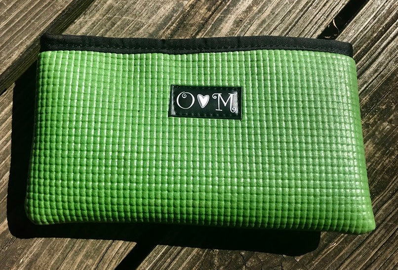 Clutch, Wallet, Recycled Yoga Mats