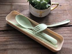 Wheat Straw Reusable Cutlery Set