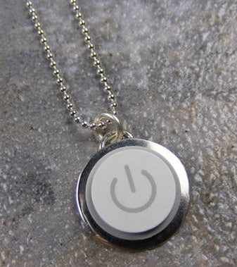 Apple Round Key Necklace