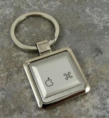 Apple Key-Ring