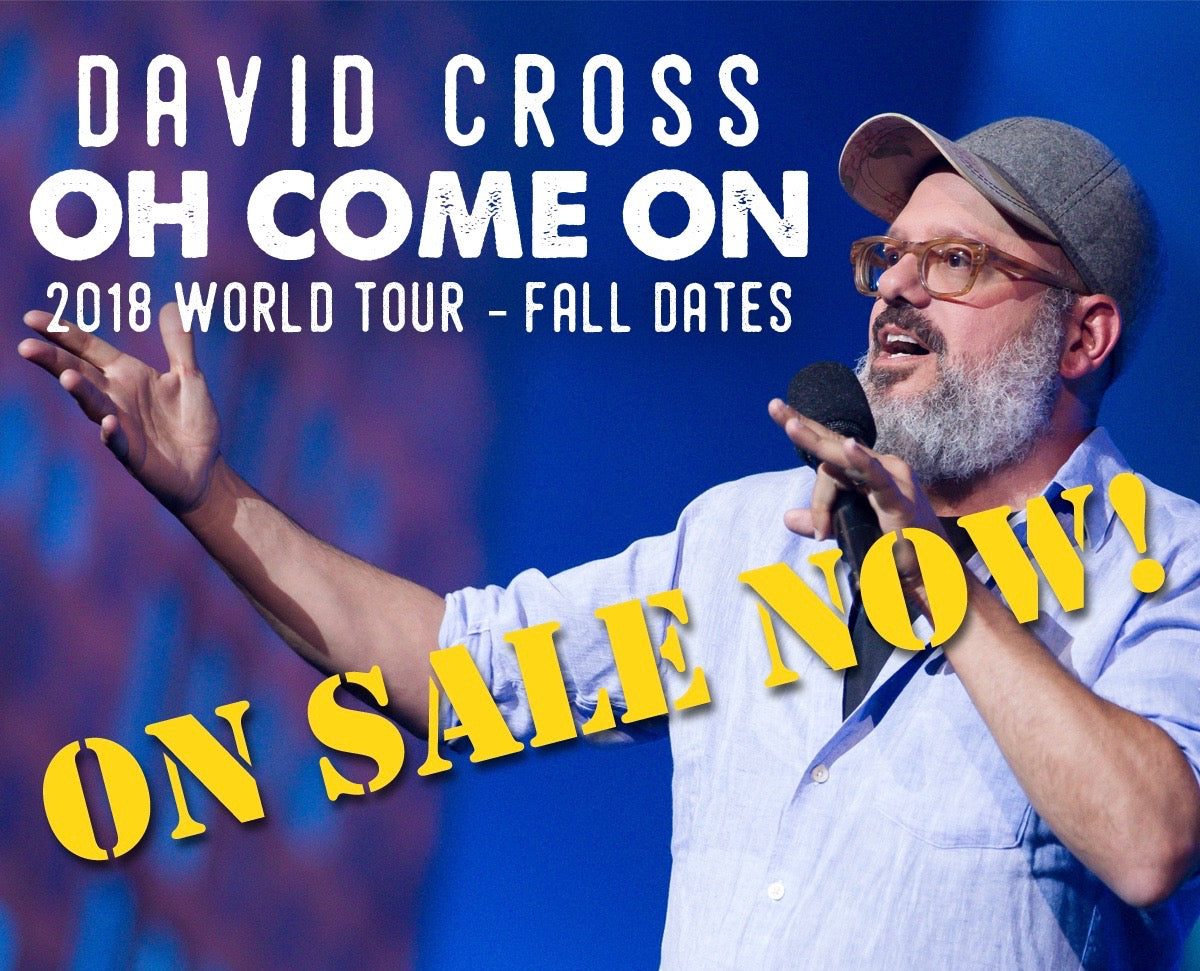 New Fall dates for the OH COME ON 2018 Tour ON SALE NOW!