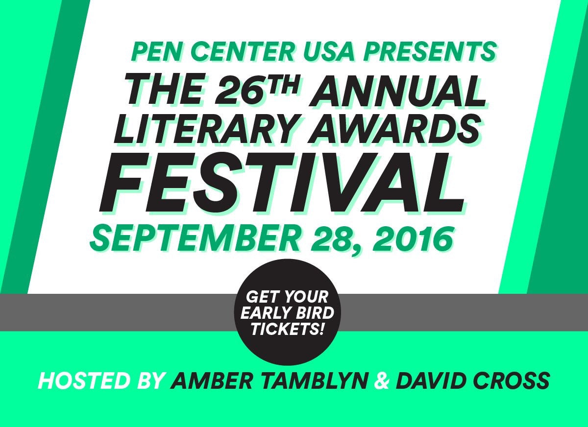 Amber Tamblyn and David Cross to Host The 26th Annual Literary Awards Festival