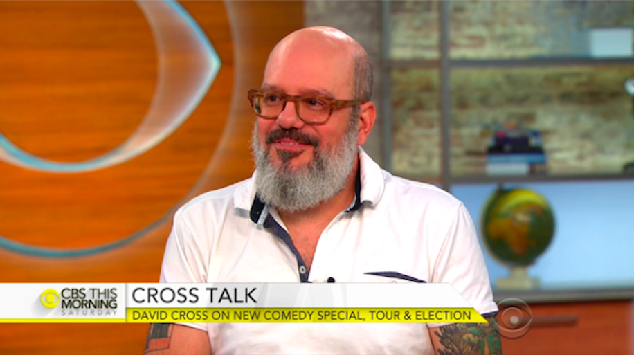 "David Cross takes on Trump in new comedy, ""Making America Great Again!"" (CBS This Morning Saturday)"
