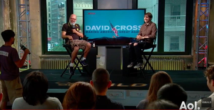 See David's Interview on AOL BUILD (September 13, 2016)