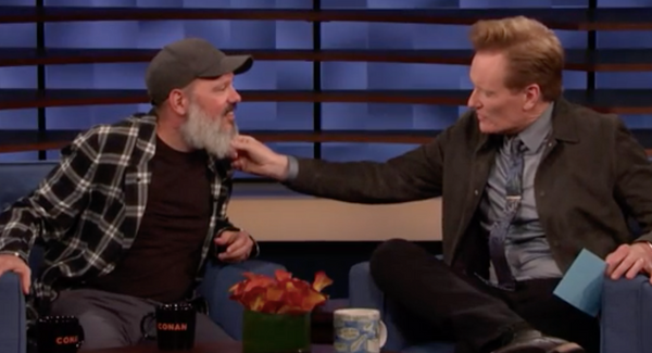 David on Conan O'Brien (Wednesday, May 8)
