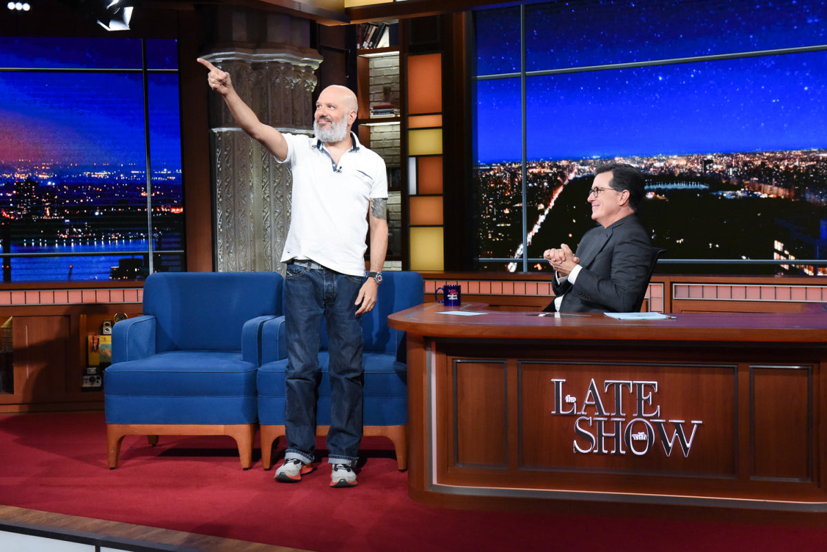 David on The Late Show With Stephen Colbert (July 17, 2019)