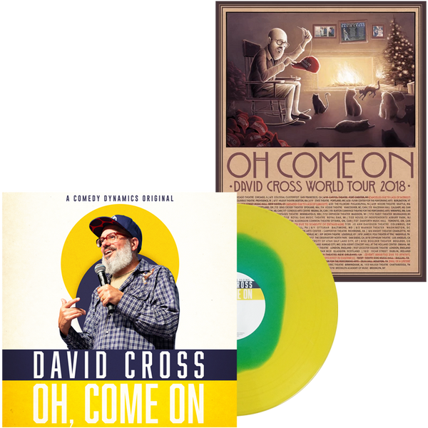 OH, COME ON Autographed Vinyl + Poster Bundle