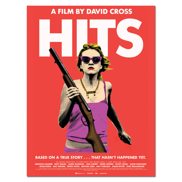 Hits Film Poster (Autographed)